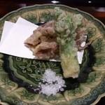 日本料理 晴山 - (2013年4月)富山湾のホタルイカとタラの芽!