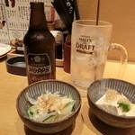 右衛門 - 2015'11/13 「ちょい吞みセット」690円
