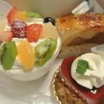 洋菓子 きのとや - ケーキ3種 2015.11