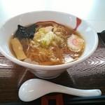 わいわい - 比内地鶏醤油ラーメン ¥630
