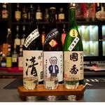 居酒屋⁺Neko - 「遠州の酒3種 飲み比べ」