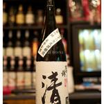 居酒屋⁺Neko - 「富士錦 純米大吟醸 清」