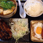 まんが喫茶モーニング - 2015-11-14 味噌汁定食