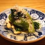 高太郎 - 静岡馬場農園有機野菜と国産大豆のおひたし