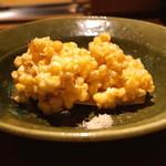 高太郎 - 北海道ニセコ町の玉蜀黍のかき揚げ