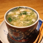 高太郎 - 栗と蟹の茶碗蒸し