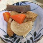 きらく食堂 - サービスの煮物