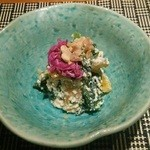 魚菜 基 - ランチの懐石(10月)