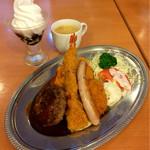 44438977 - ☆洋食おとな様ランチプレートセット☆