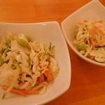 カトマンドゥ - セットのサラダ