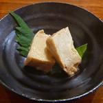 新橋辻そば - 豆腐の味噌漬け