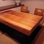 成都飯店 - 完全個室『倉』。落ち着いた空間でコース料理をお楽しみいただけます。