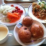4444668 - 朝食、野菜中心