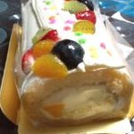 ケーキ ヒナタ - 七夕ロールケーキ 正面