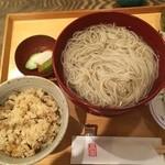 高田 - おろし蕎麦お昼セット