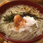 高田 - もとい、釜揚げ蕎麦