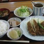 44441433 - チキンカツ定食700円