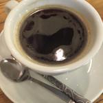 ダインプレイス - ランチ、アメリカンコーヒー。