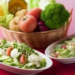 レストランせんごく - こだわり野菜使用