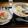 道の駅「信州蔦木宿」てのひら館 - 料理写真:チャーハンセット