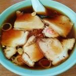 みはと食堂 - みはと食堂@下今市 叉焼拉麺