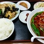 豊源 - 料理写真:豚肉とキクラゲと玉子炒めのランチ