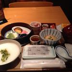 nihonryourioosakaukihashi - 朝ご飯