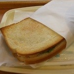 ドトールコーヒーショップ - ハムチーズのホットサンド