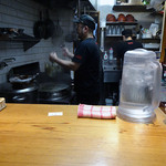 ラーメン屋 トイ・ボックス - 「トイ・ボックス」厨房