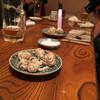 太郎 - 料理写真:白子を目の前で炙ってくれます。塩振っていただくのが最高にうまいです!