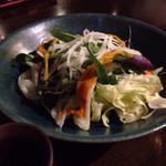 旬菜処 びいどろ - 島野菜サラダ