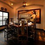 白碗竹快樓 - 人気の円卓個室。