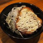 めん虎 - マヨチャーシュー飯