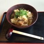 本町製麺所 - 鶏天うどん650円
