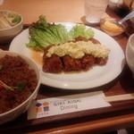 四季愛菜ダイニング - チキン南蛮御膳 1,180円