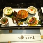 モリタ屋 - 前菜五種盛❤ヾ(´∀`ヾ)
