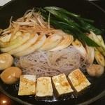 モリタ屋 - 野菜と白滝と豆腐❤ 九条葱が優秀❤ヾ(´∀`ヾ)