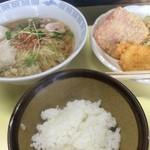 大豪 - ラーメン定食【料理】