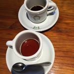 サージョンズカフェ イタリアーノヨコハマ - ずいぶん濃さが違いますよね