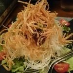 てけてけ - てけてけサラダ(ハーフ税込637円)