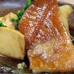 44455286 - 煮魚。