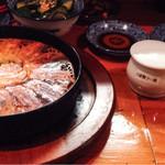 Usagishokudou - ラー油と特性スパイス