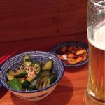 Usagishokudou - ピリ辛胡瓜とピーナッツ