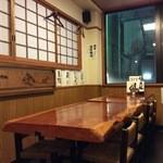 44456754 - 2階のテーブル席