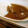 パンジャブ - 料理写真:自家製ビーフカレー サラダ付550円。