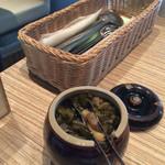 東京純豆腐 - 漬物