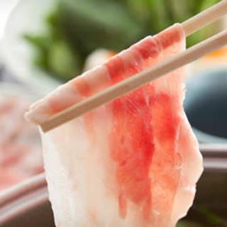 【日曜日限定】豚しゃぶ食べ放題90分コース1,980円