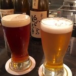 ビア小町 - 地ビール二種、中々深い味わい