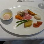 箱根ハイランドホテル ラ・フォーレ - 朝ごはんはまたパレット。内容は少しづつ違います。