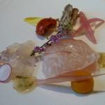 箱根ハイランドホテル ラ・フォーレ - 鯛のマリネ